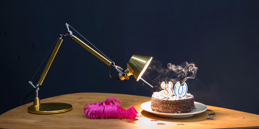 Tolomeo and its revolutionary design celebrate their 30th anniversary