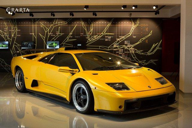 Lamborghini Design celebrated at Erarta
