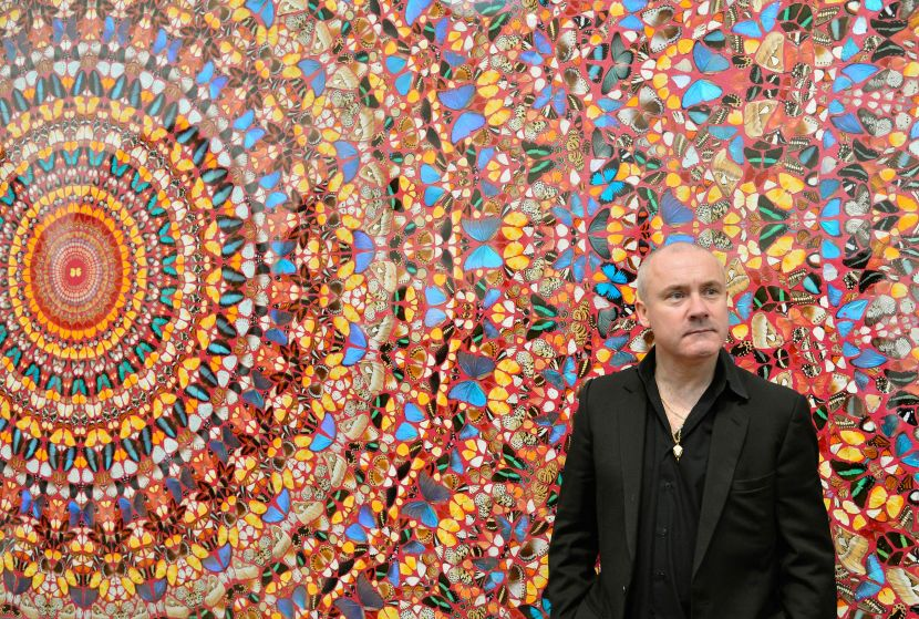Hirst's new exhibition on show in Venice