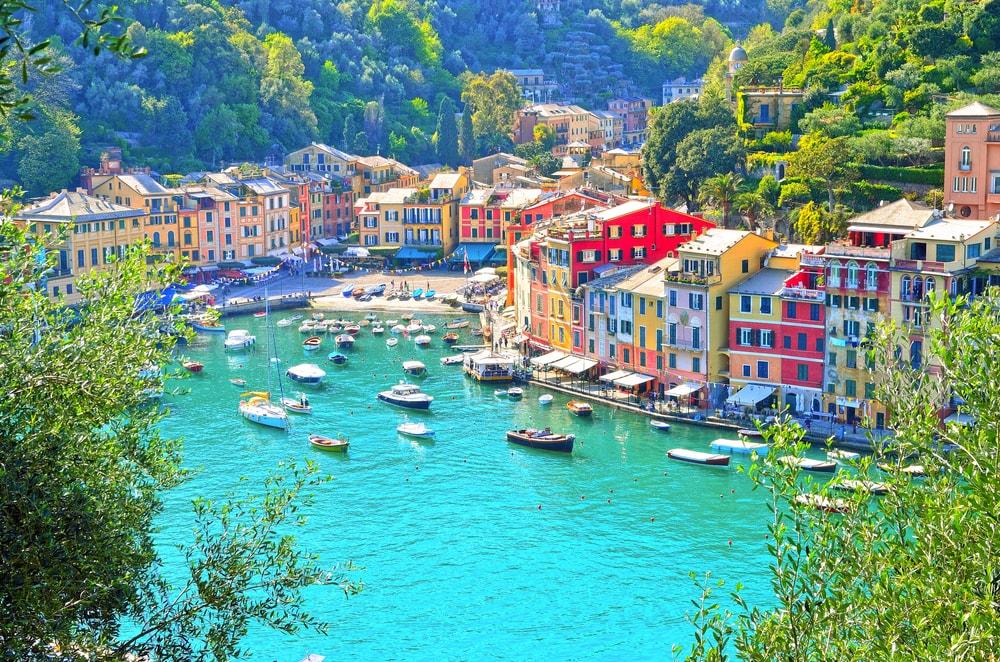 Ventimiglia in the Riviera Ligure, where the mountains meet the sea