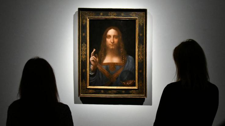 The Last da Vinci sells for world record $450 million