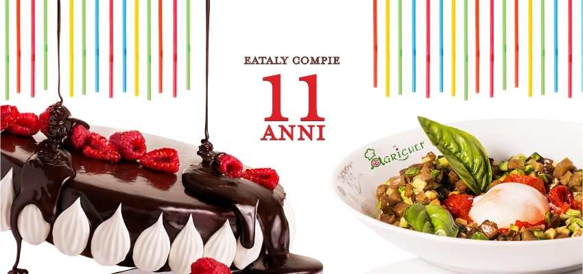 11 agri-chefs to celebrate Eataly's 11th birthday