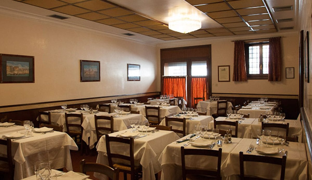 The oldest restaurant in Rome turns 500