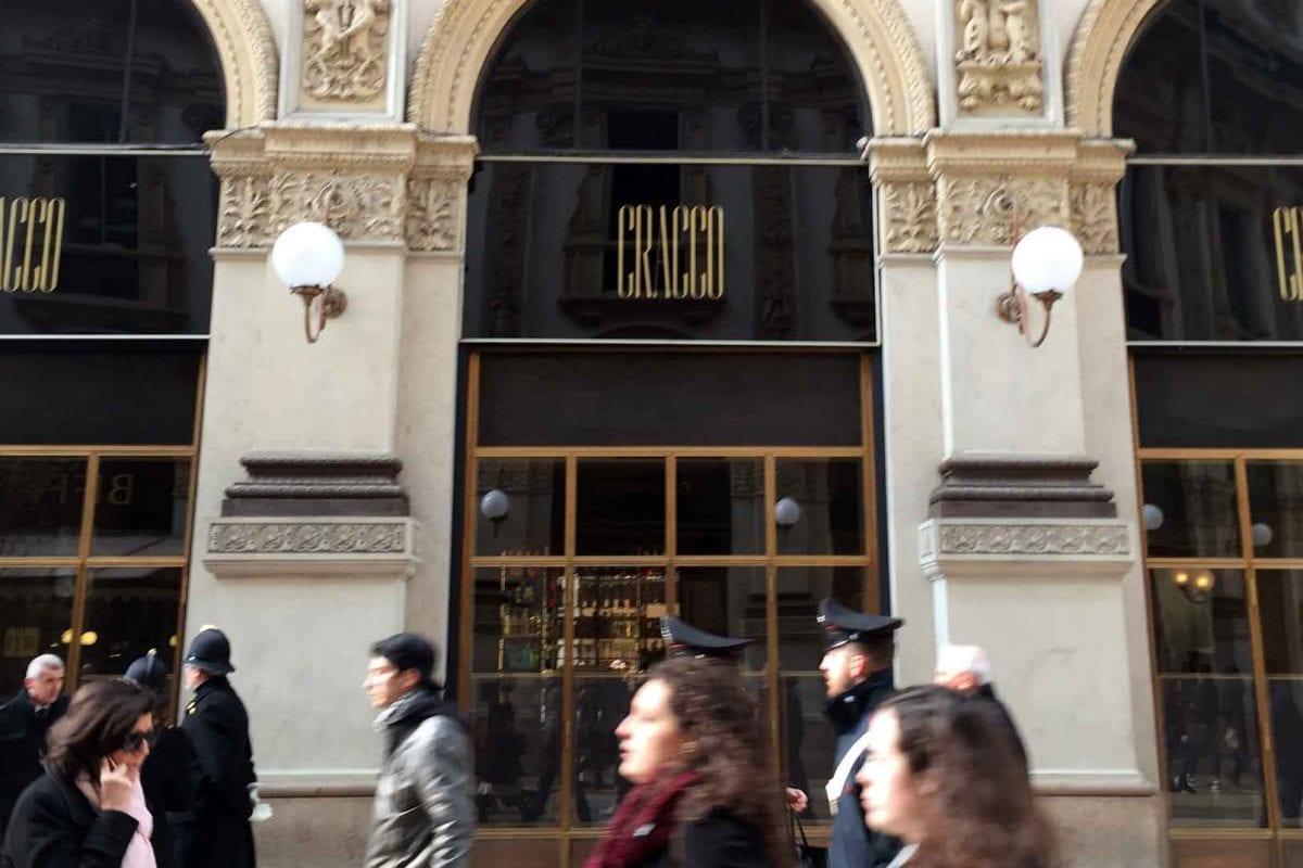 Cracco's new restaurant in Milan