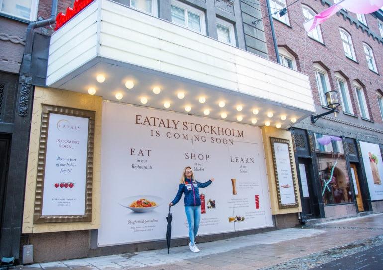 Eataly opens in Sweden