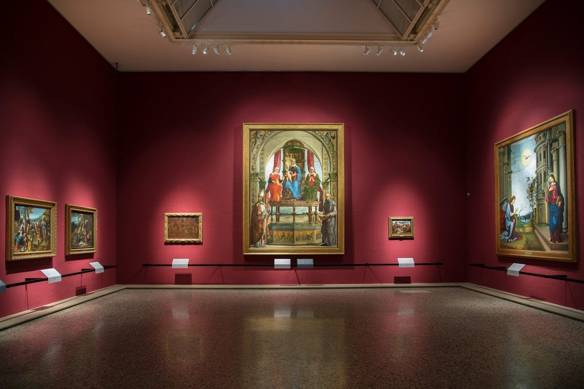 Modern Italian art, from Milan to London