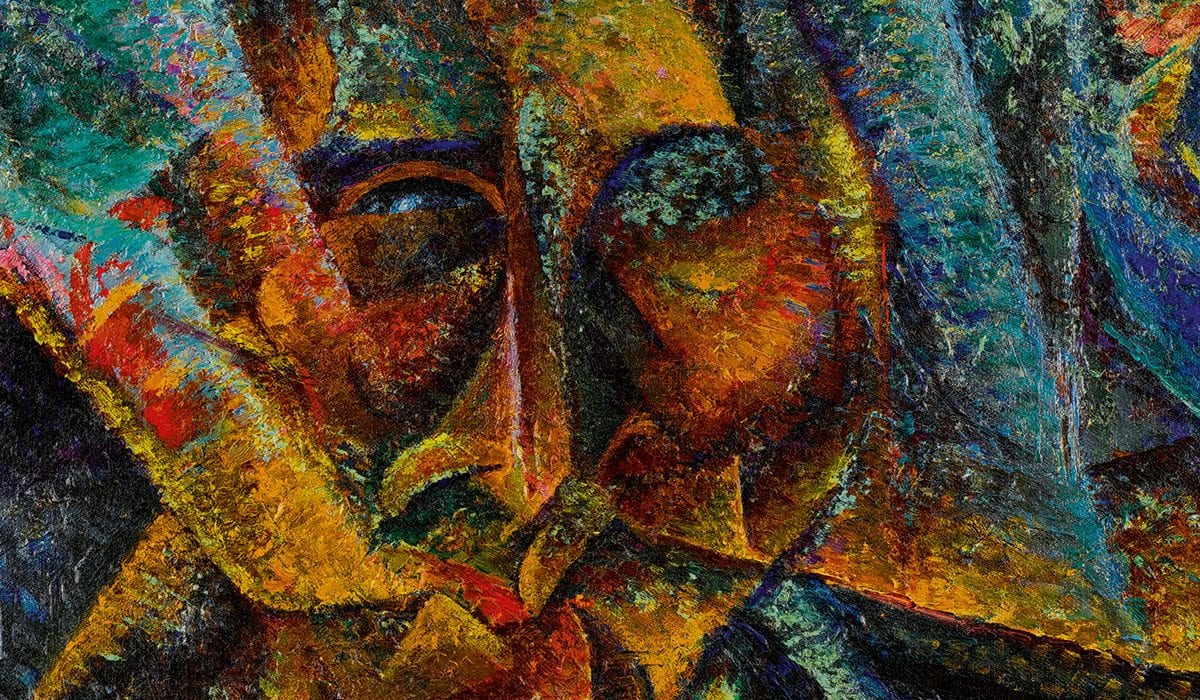 Rare Boccioni Futurist Painting at Sotheby's in London