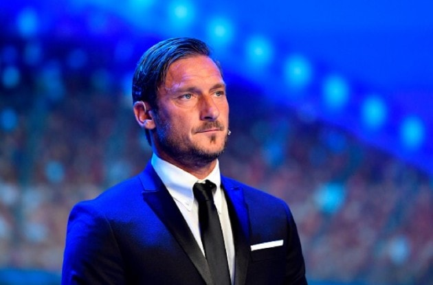 Totti's career celebrated by the Laureus Academy