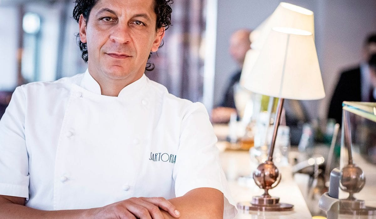 Chef Mazzei brings Calabria to the UK