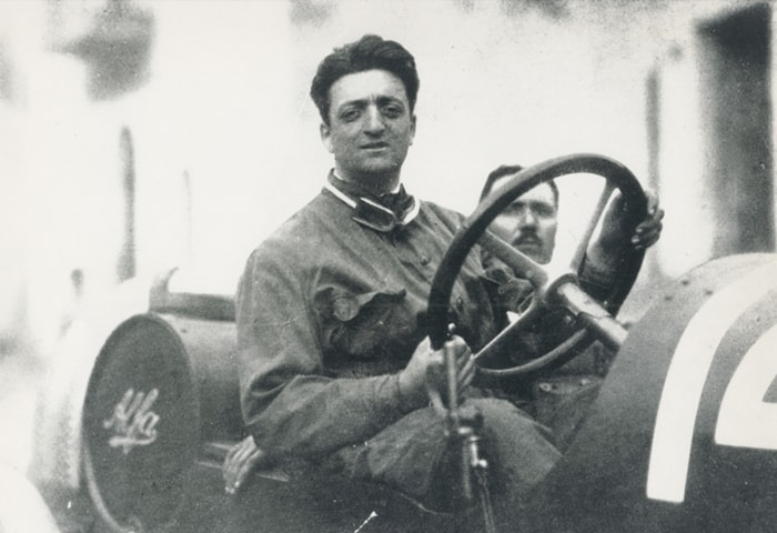 The private life of Enzo Ferrari on show