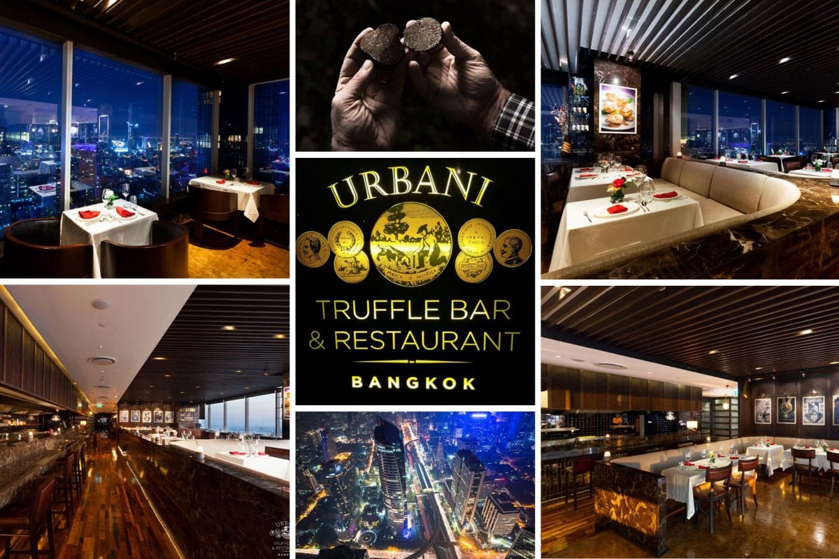 Urbani and Ugolini's truffle concept restaurant in Bangkok