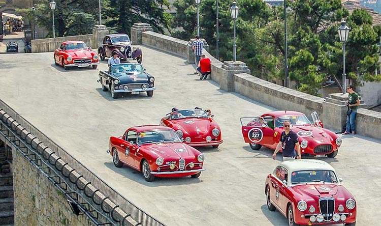 Mille Miglia 2018, the 91st edition of the legendary race