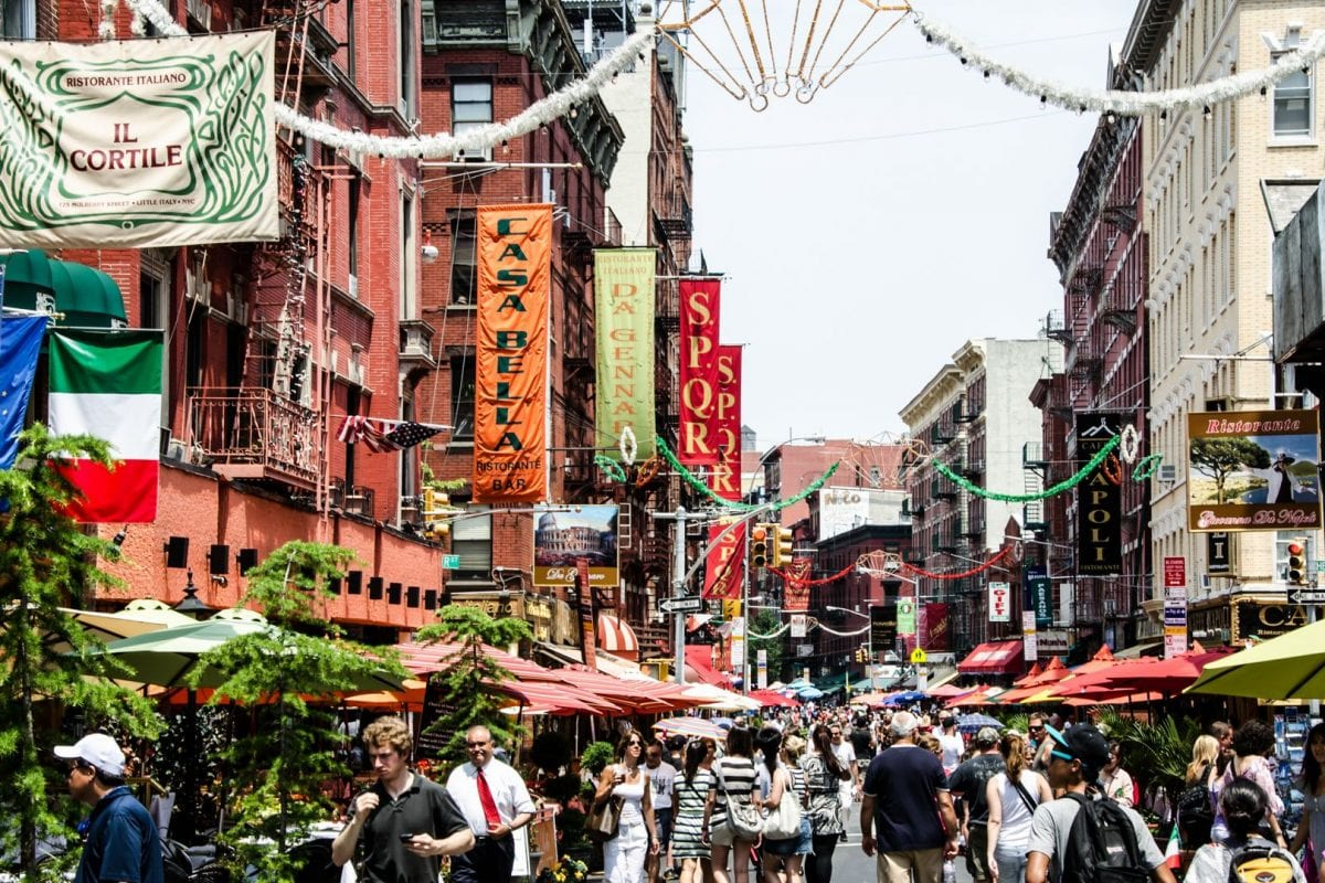 Italians in New York: Little Italy and Bronx