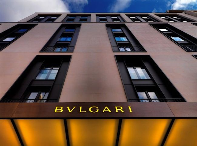 New Bvlgari Hotel in Shanghai