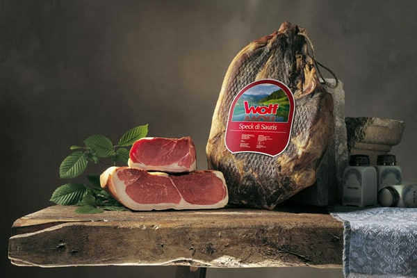 Wolf, the excellence of cured meats
