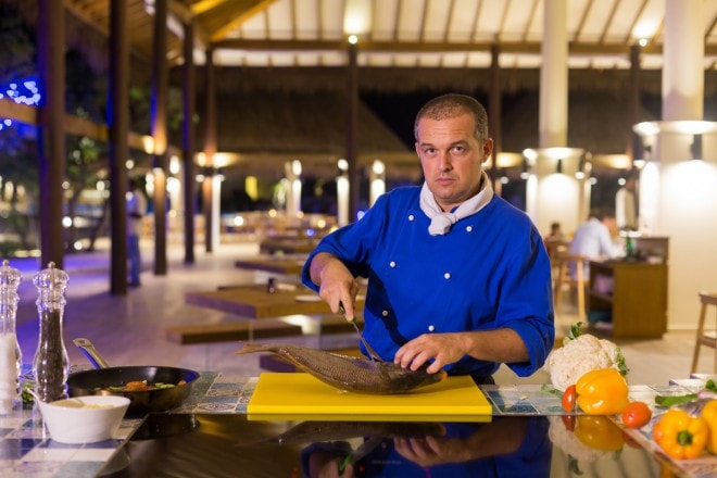Italian cuisine in the Maldives