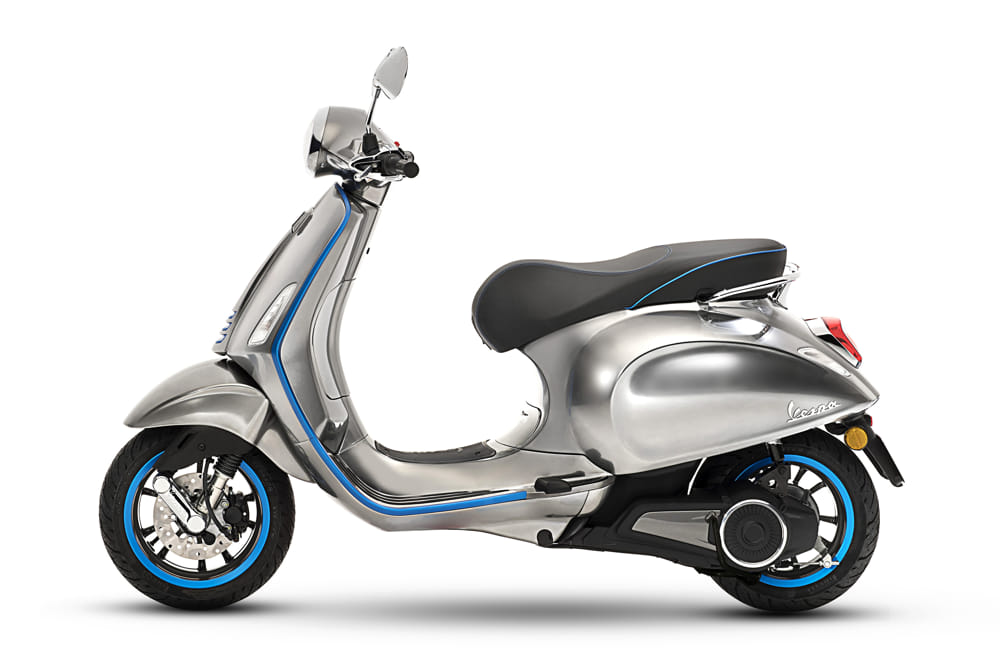 The iconic Vespa turns into an electric scooter