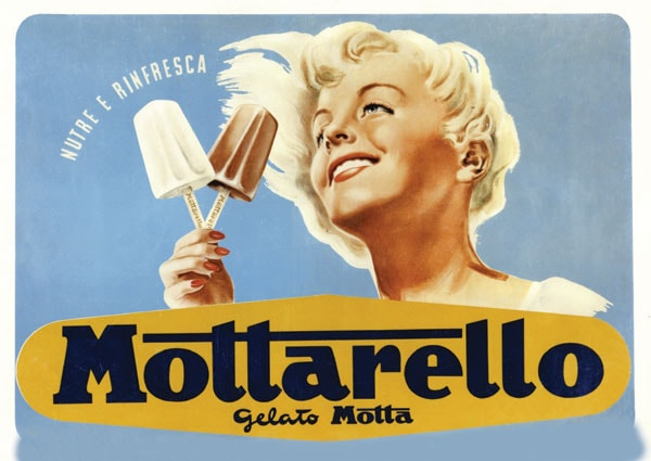 The Italian evolution of the packaged ice cream