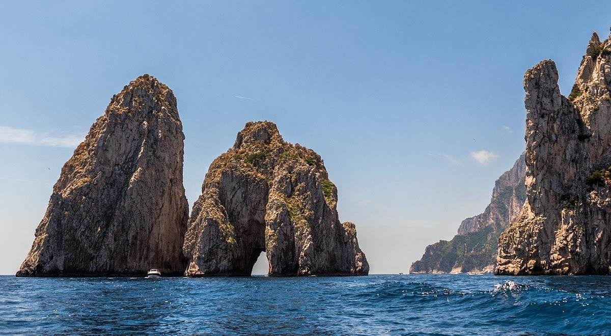 Capri: celebrities' holiday destination