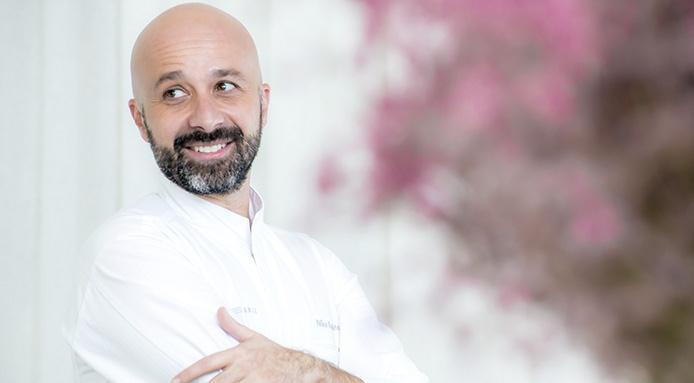 Niko Romito's restaurant opened in the Bvlgari Hotel Milano