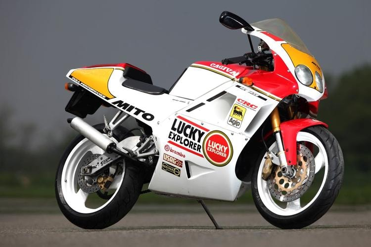 Cagiva, a rally to celebrate '40 years of Italian motorcycles'