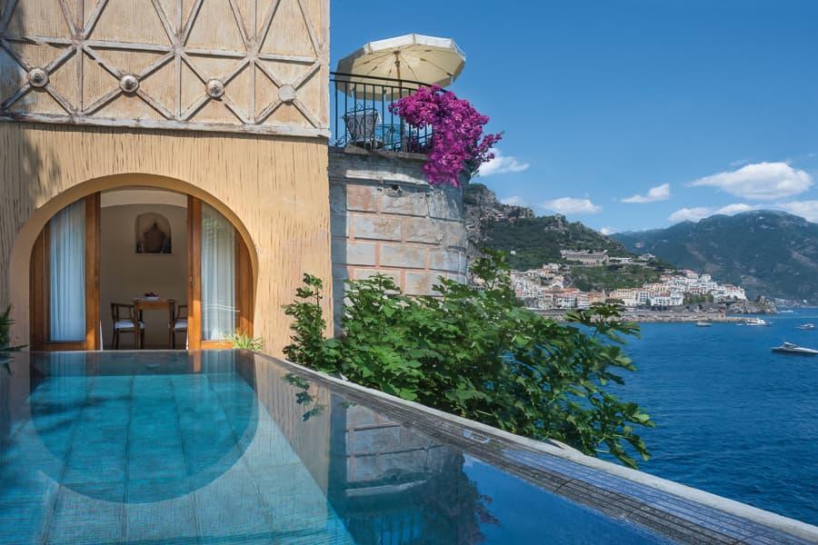 Hotel Santa Caterina: the amazing panorama of the Amalfi Coast