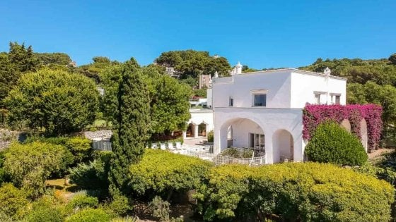 In Capri, the villa where Totò lived is up for sale