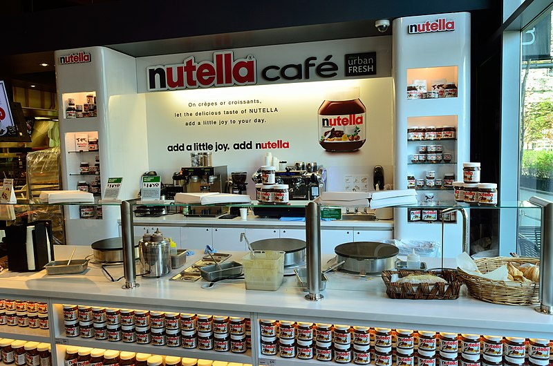 A New Nutella Cafe opened in New York City