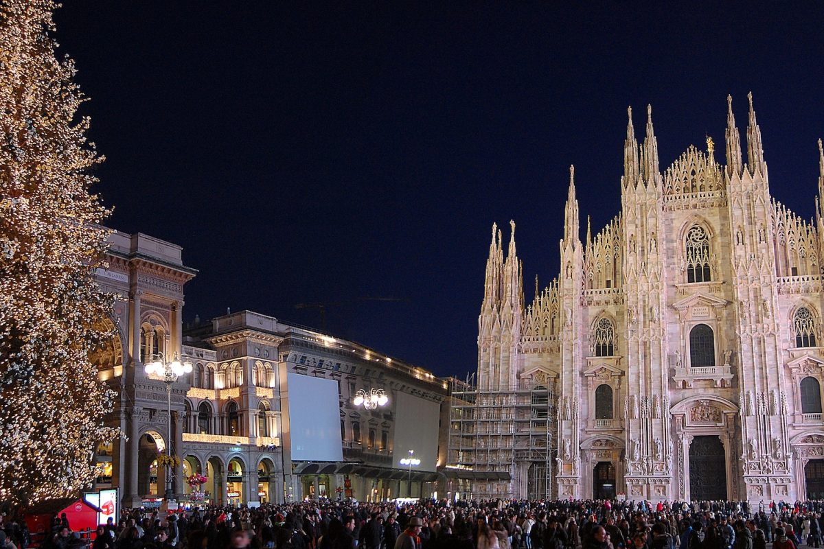 Milan's delightful Christmas lights