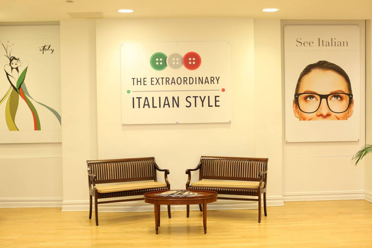 All about Italy meets Italian fashion in New York