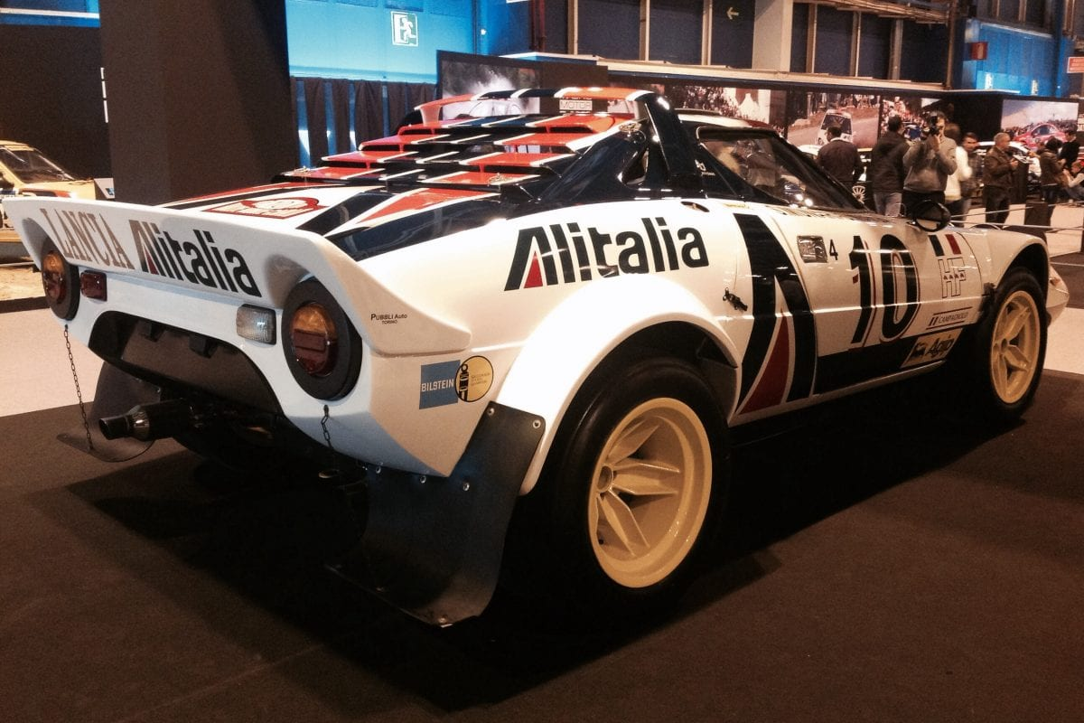Fiat 500 and Lancia Stratos celebrated in Paris