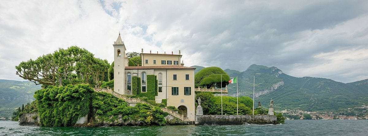 Italian wonderful villas in movies