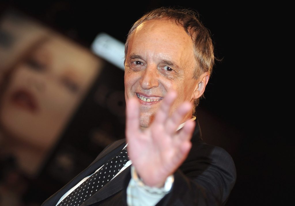 Dario Argento is working on a TV series by Netflix or Amazon