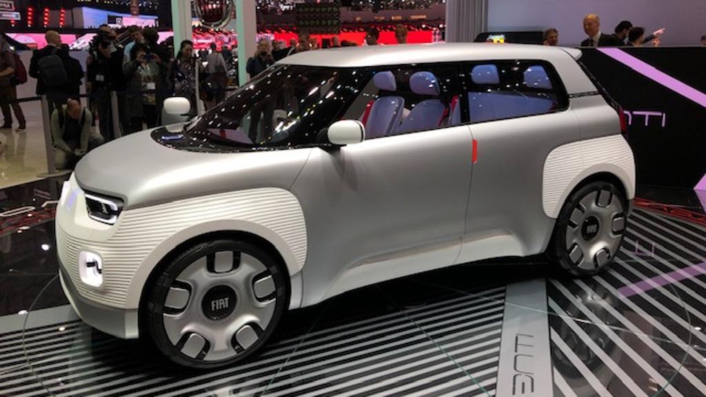 Fiat Concept Centoventi, 'born to be dressed'