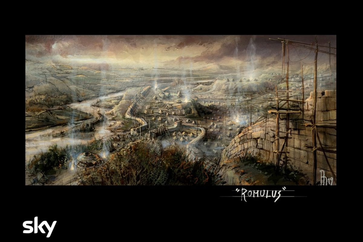 'Romulus', Sky's series about the foundation of Rome