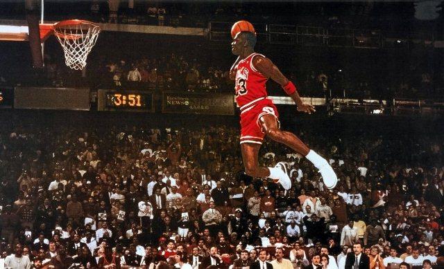 Michael Jordan in Florence