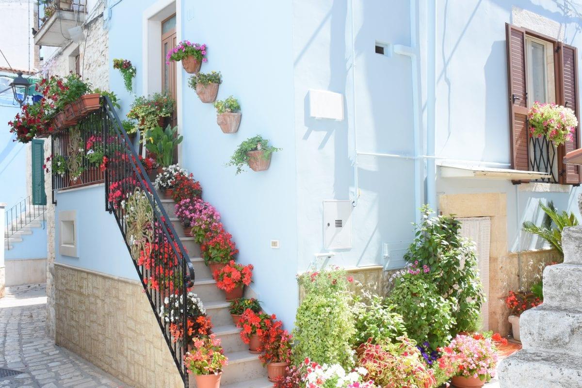 Casamassima, the Italian 'Blue City'