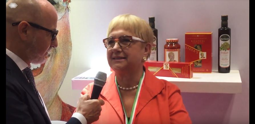 Interview with Lidia Bastianich at Fancy Food Show 2019