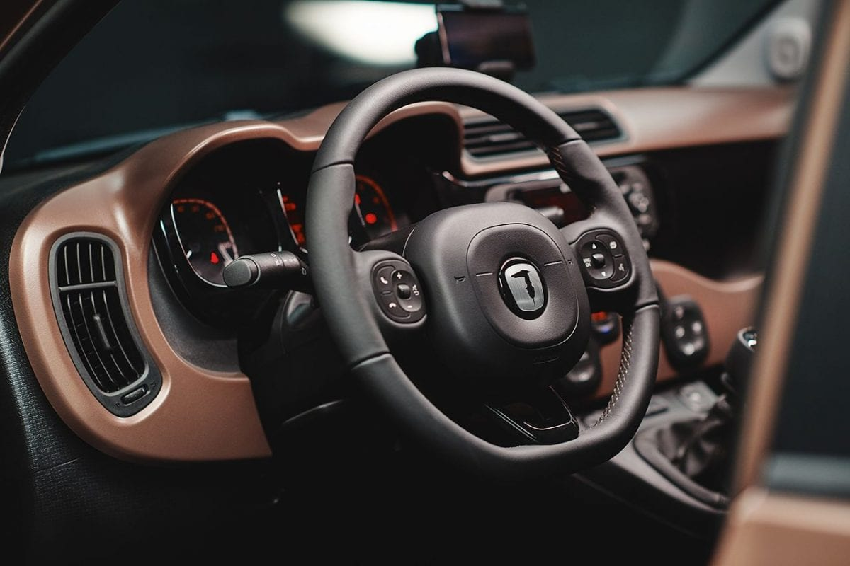 Trussardi and Fiat together for the first luxury Panda