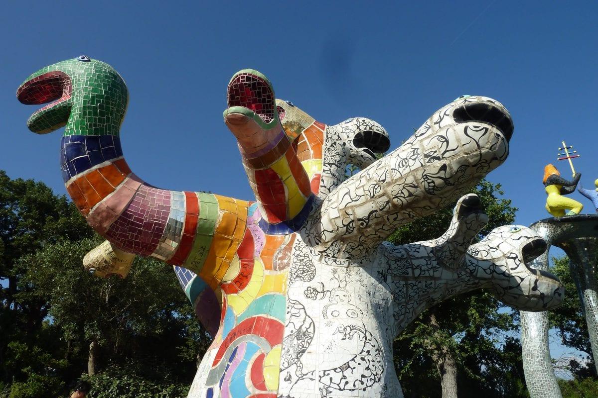 'Il Giardino dei Tarocchi', art and magic in Tuscia