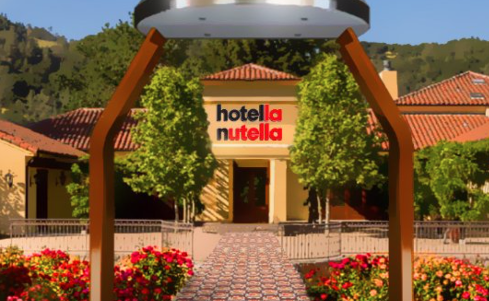 A pop-up hotel to enjoy a Nutella Weekend Breakfast Experience