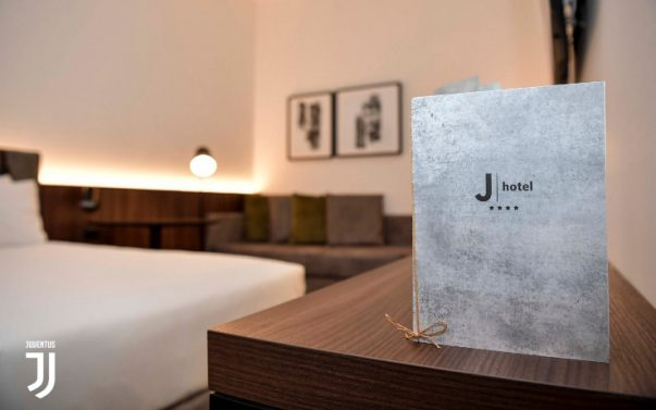 Juventus has a new branded hotel for team and fans