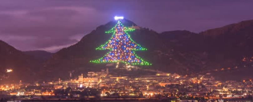 In Gubbio, record-breaking Christmas tree to be lit from Bethlehem