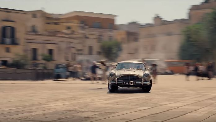 James Bond: No Time to Die in Matera