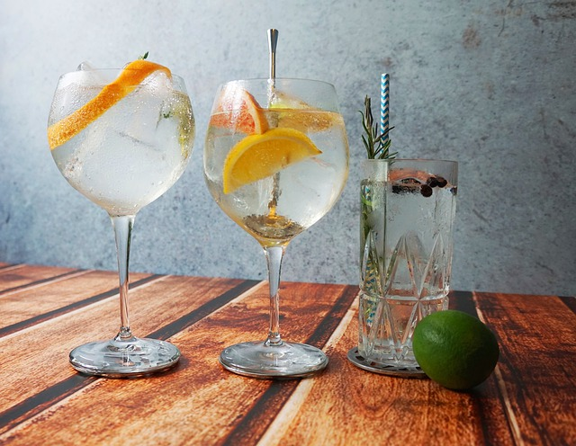 The excellence of Italian gin