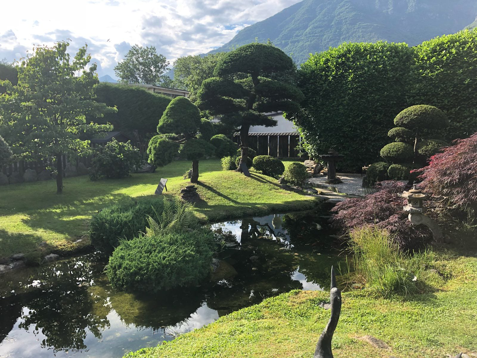 A Japanese oasis at the foot of the Alps