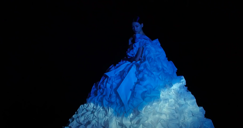 Valentino haute couture dream show with Nick Knight and FKA Twigs
