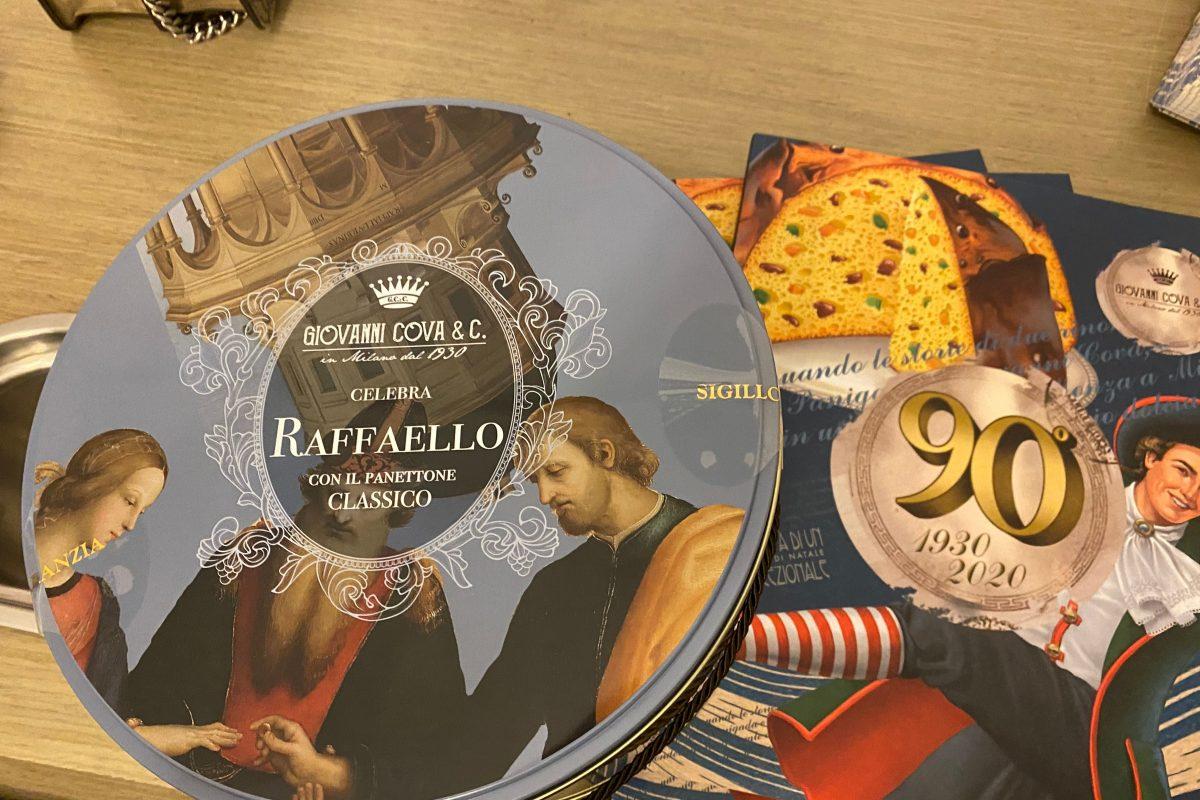 Giovanni Cova & C. celebrates Raffaello Sanzio da Urbino