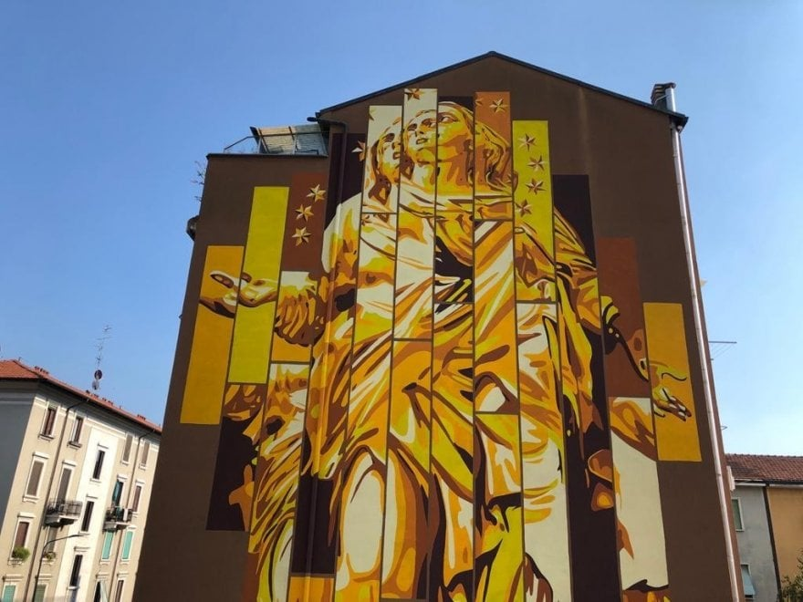Ortica, the Milanese street art district