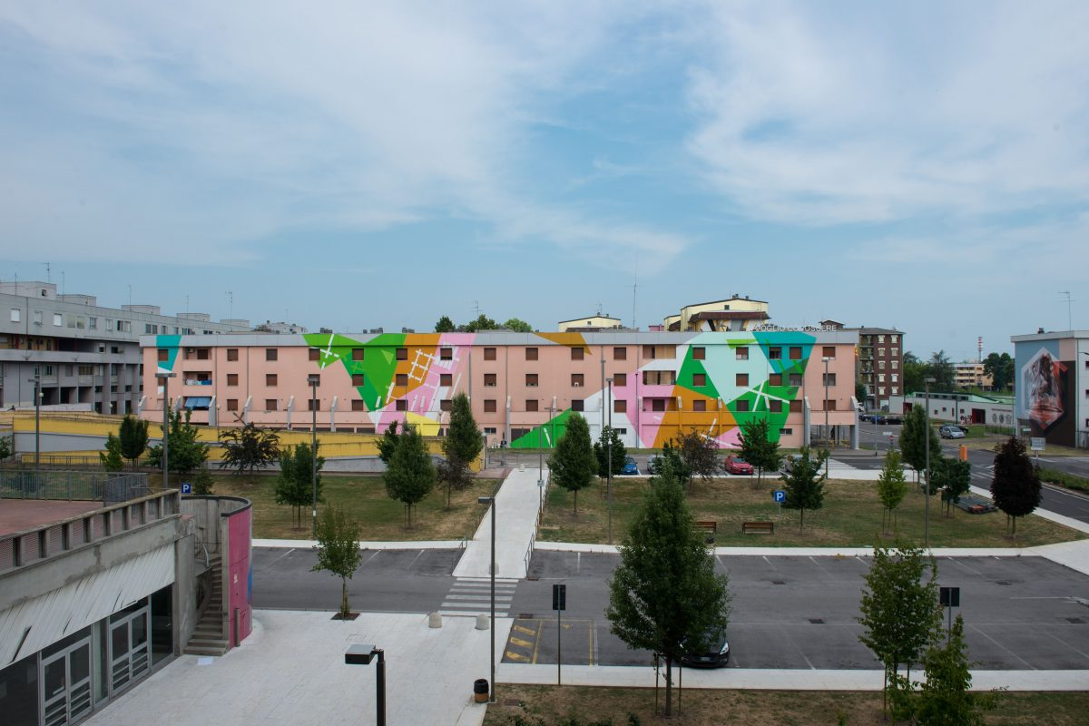 Redeveloping the suburbs with urban art: the Lunetta case, in Mantua